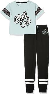 7be50f4508 New Look 915 Girl s 5943392 Pyjama Sets  Amazon.co.uk  Clothing