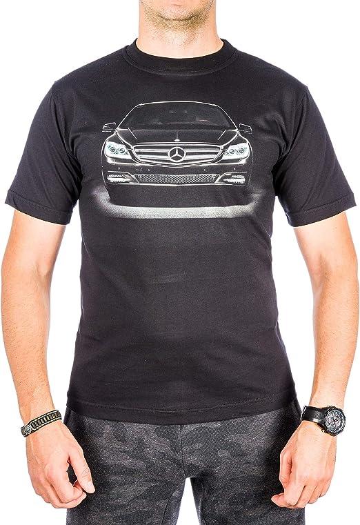 Auto-Fan - Camiseta de Manga Corta para Hombre, Color Negro ...