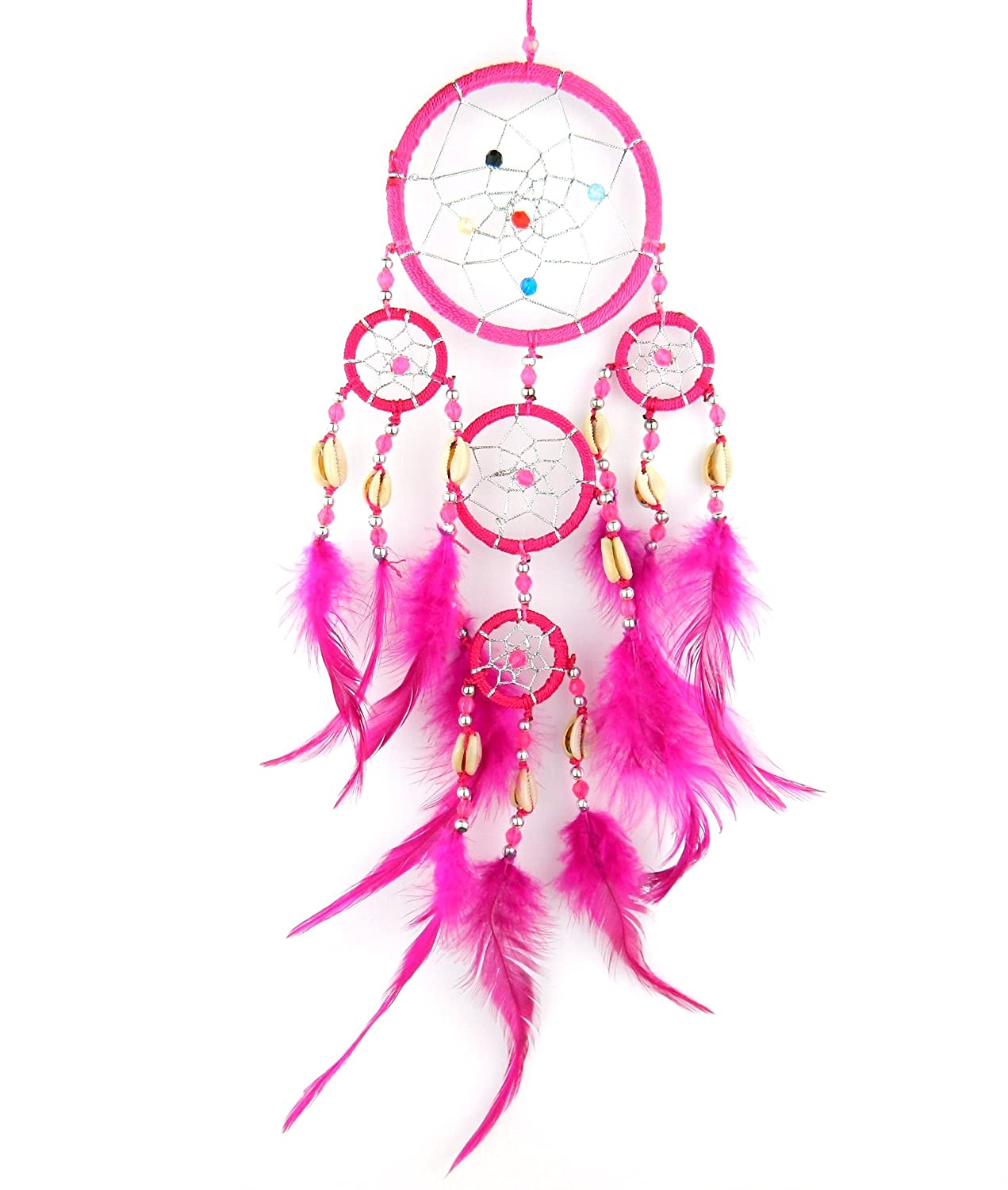 BRILLIANT GIFTS PINK DREAM CATCHER dreamcatcher for girls bedroom