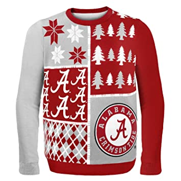 Amazon.com : NCAA College 2014 Ugly Christmas Sweater Busy Block ...