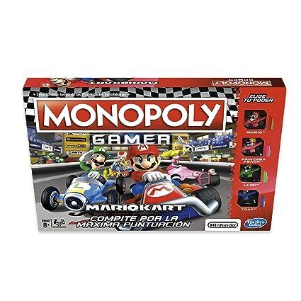 Hasbro Gaming Juego De Mesa Monopoly Mario Kart Amazon Com Mx
