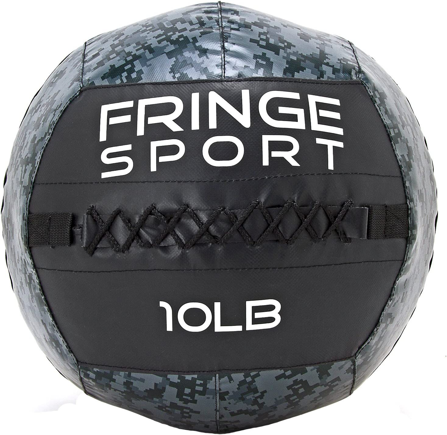 Fringe Sport Digital Camo Medicine Ball Extra Durable Weighted Ball for Strength Conditioning WODs, Plyometric Core Training, Slamballs, Wallballs, Partner Tosses, and Cardio Workouts