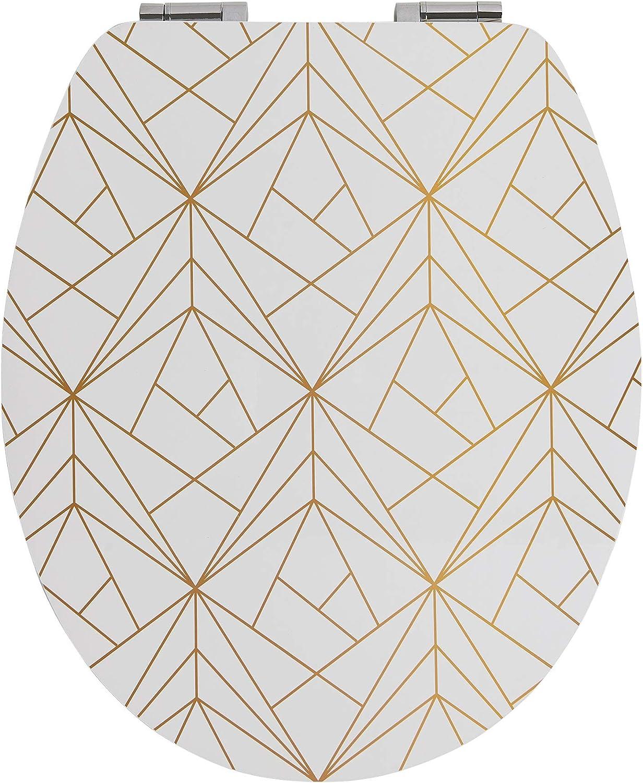 Geometric Gold Wirquin 20722723 Trendy Line Diplomat Abattant