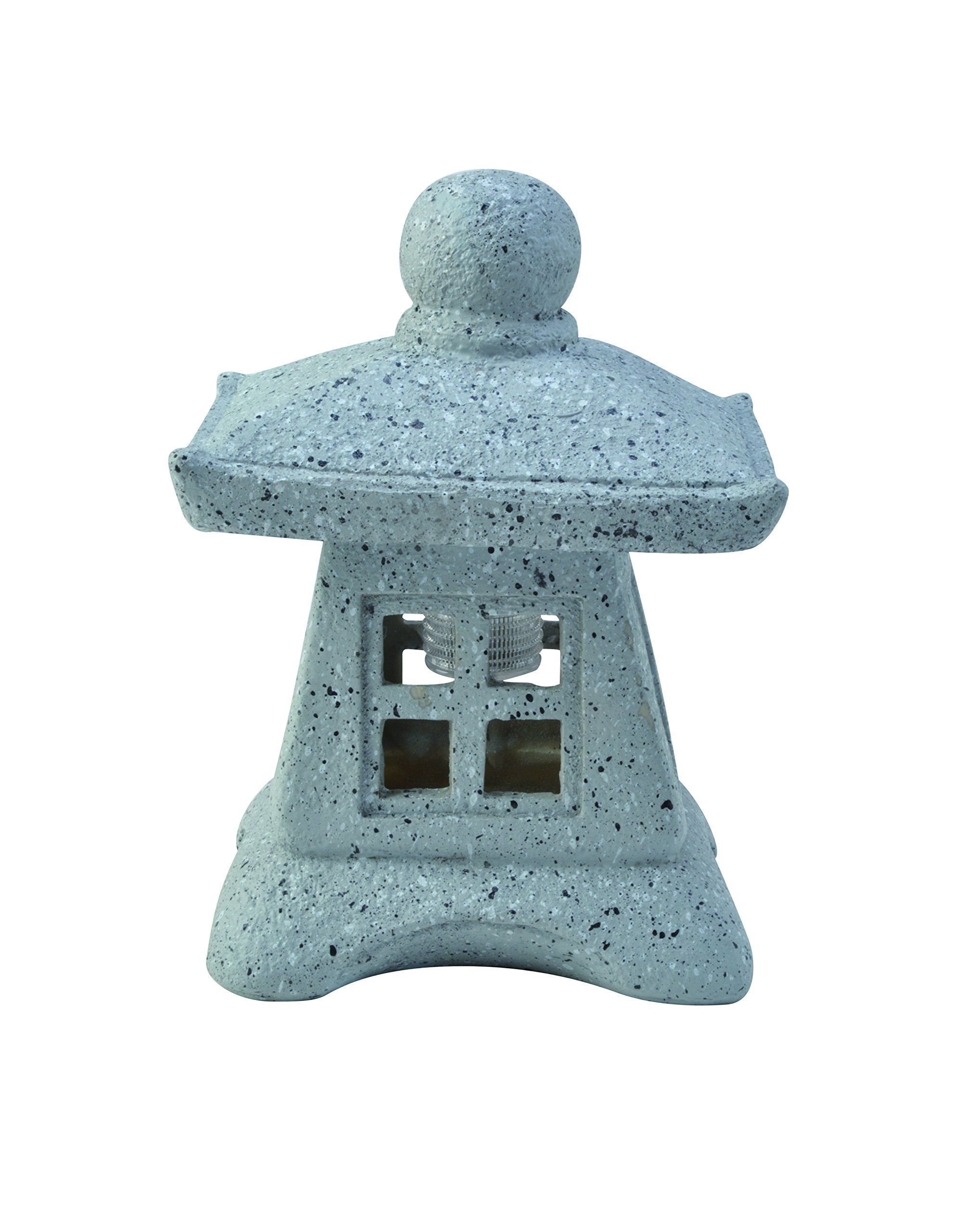 Moonrays 95568 Solar Powered Zen Pagoda 2 Pk