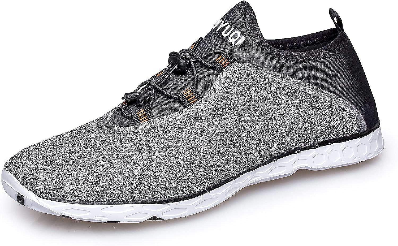 Zapatos de Agua Hombre Calzado de Natación Secado Rápido para ...