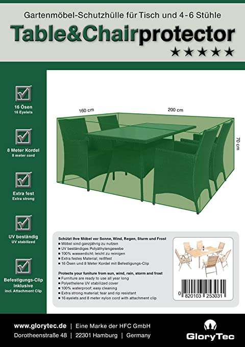 cover garden furniture 200x160x70 garden furniture cover