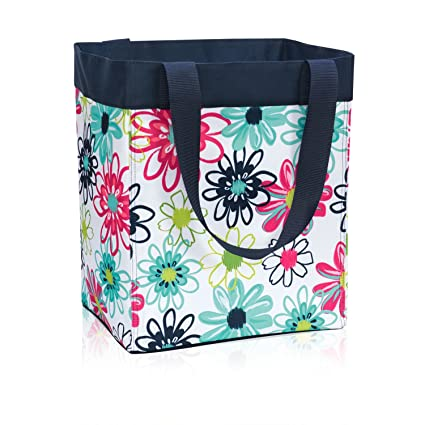 Ordinaire Thirty One Essential Storage Tote In Loopsy Daisy   No Monogram   4446