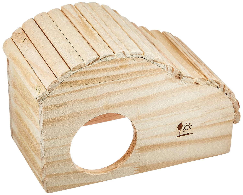 SANKO ウェーブハウス M 底なし木製 ゴールデンハムスター用