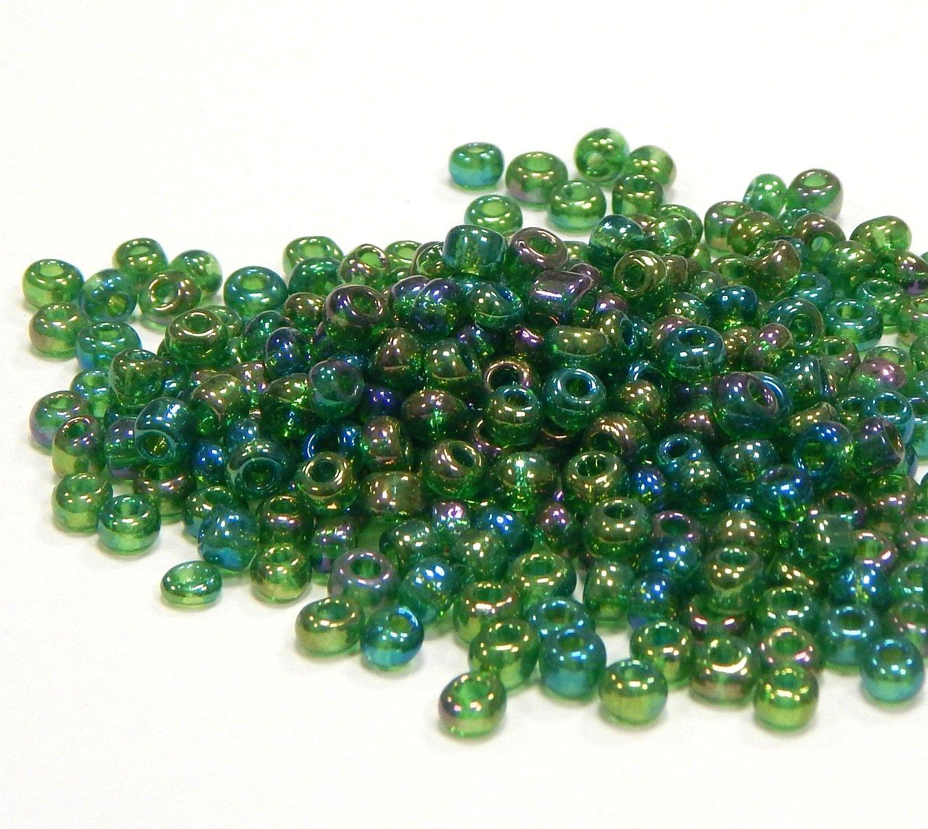Rocailles Perlen 4mm 6//0 Zuchtperlen Weiß Opak 450g Glasperlen Schmuck A190