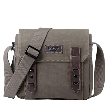 872831a6ab Troop London Canvas Leather Handbags