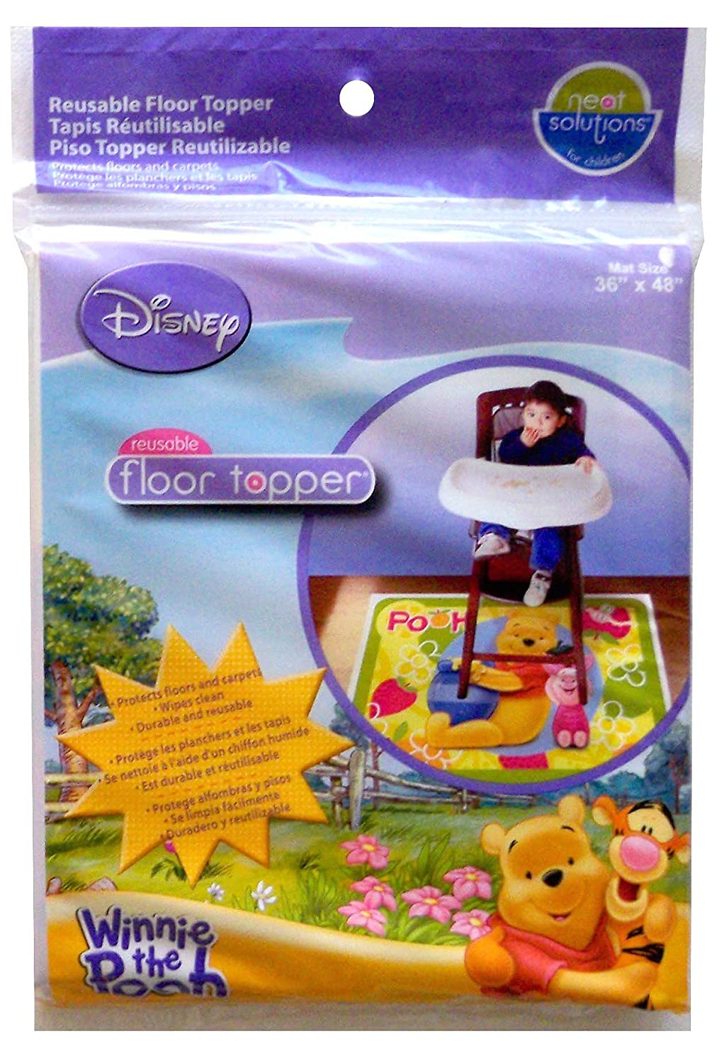 Neat Solutions Disney Winnie the Pooh Meal and Play Mat by Disney   B004CLYYS2