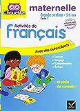 Activités de français maternelle Grande section