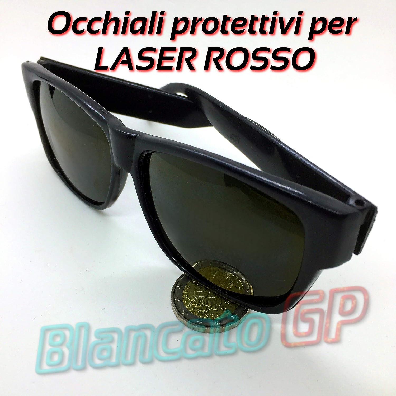 Schutzbrille f/ür Roter 650 nm 635nn 660nm MODULO DIODO