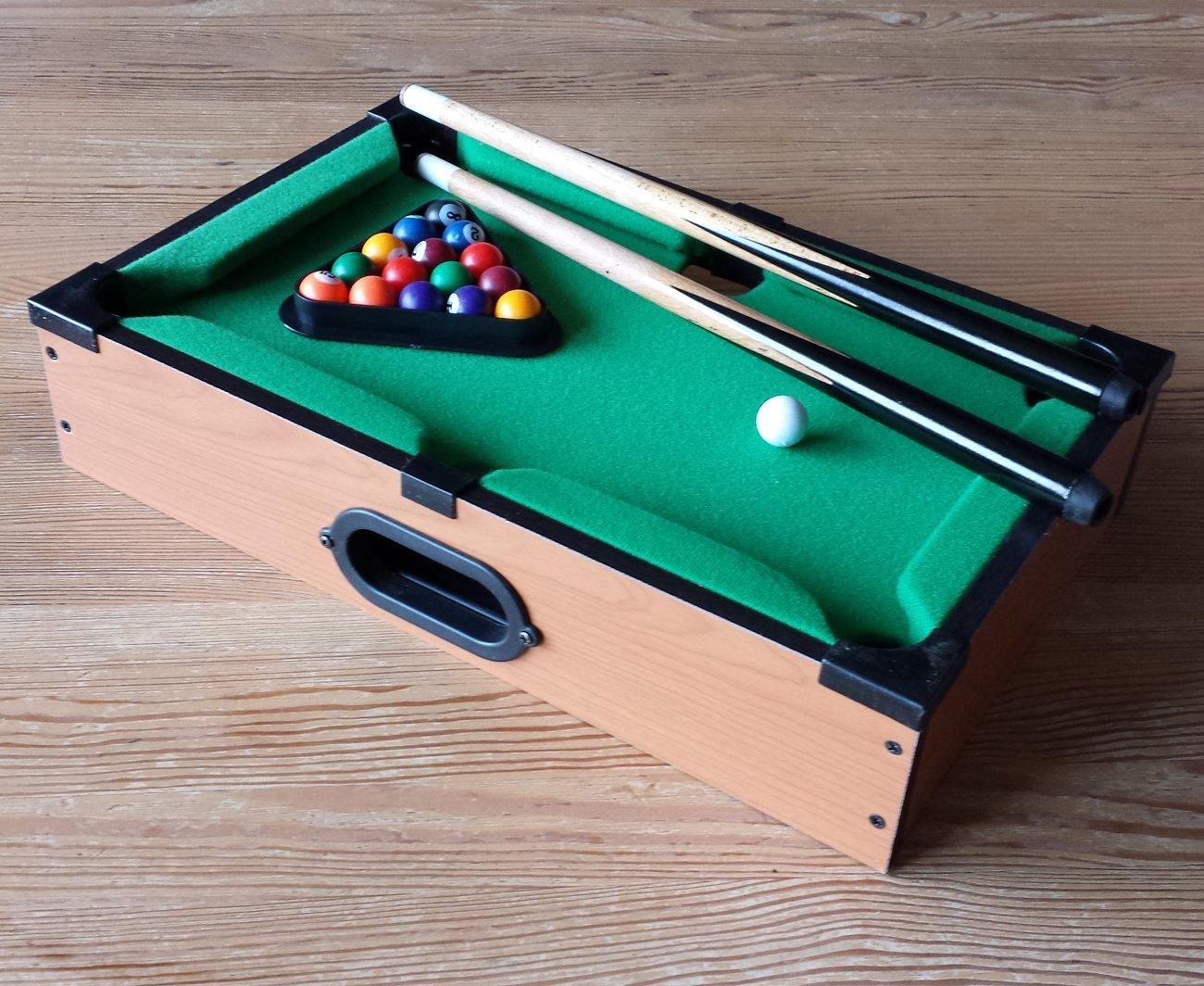 Mini Billardtisch Holz Tischbillard Mini Billard Billiard Tisch mit ...