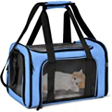 Winner Soft-Sided Pet Carrier for Small Medium Cats Dogs Puppies,Airline Approved Dog Carrier Cat Carriers Mesh Pet Travel Ba