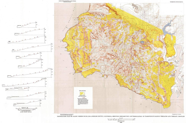 Amazon Com Historic Map 1946 Topographic Map Of Palos Verdes