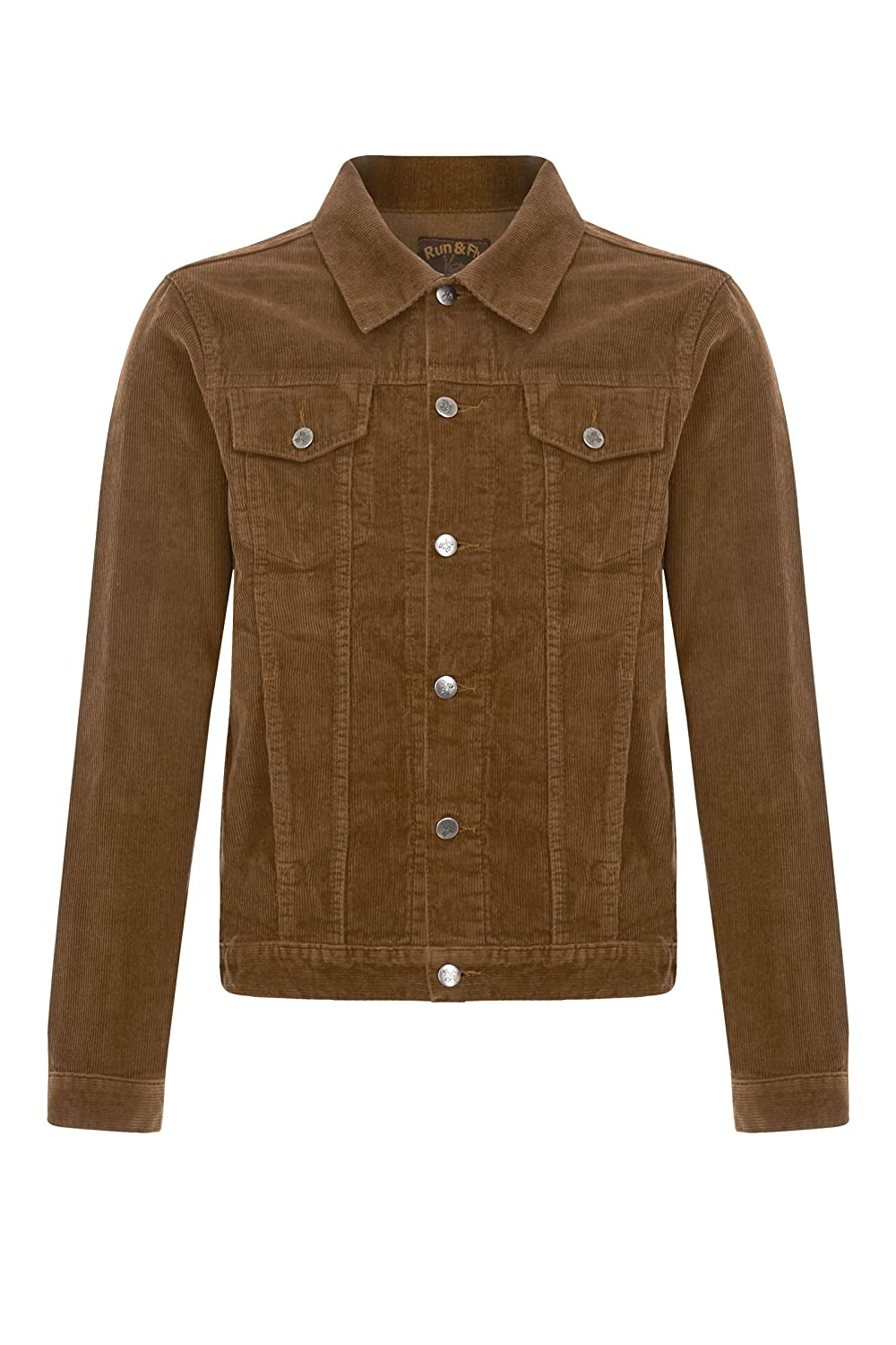 Men's Vintage Style Coats and Jackets 60s 70s Retro Vintage Corduroy Cord Western Trucker Jacket $65.95 AT vintagedancer.com