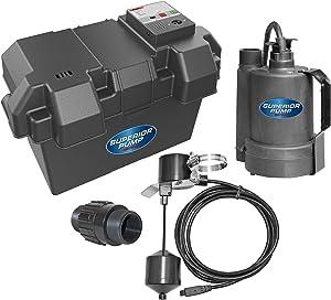 Superior Pump 92910 12V Battery Back Up