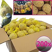 Bolas de grasa para pájaros - 200 bolas