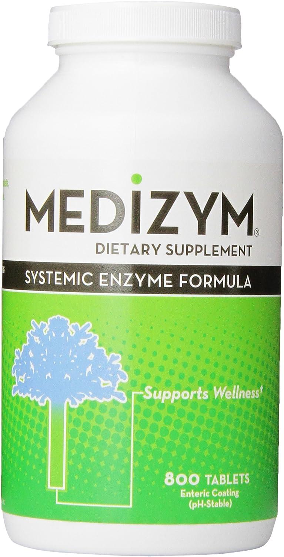 Medizym Systemic Enzyme 800 Tablets