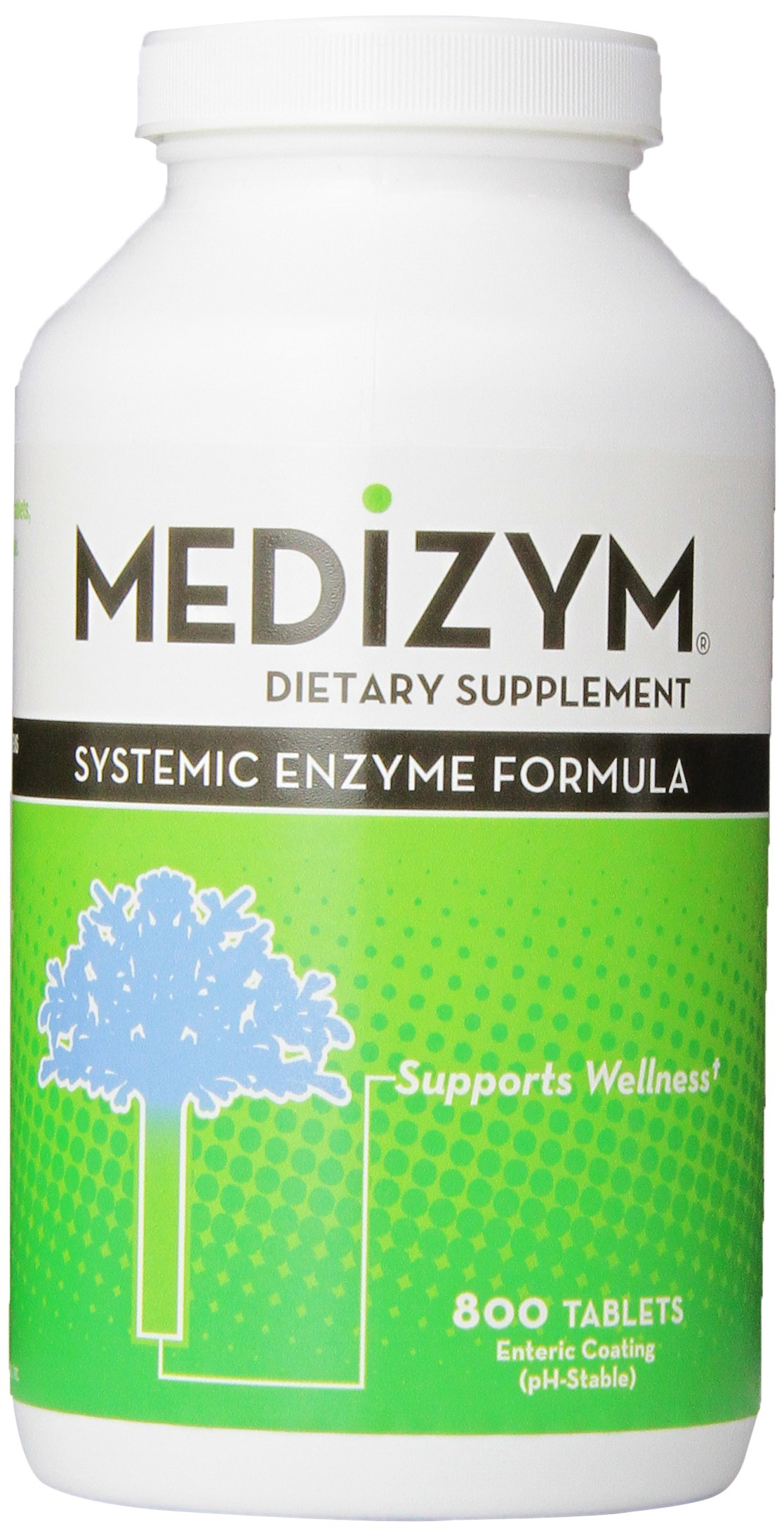 Medizym Systemic Enzyme 800 Tablets