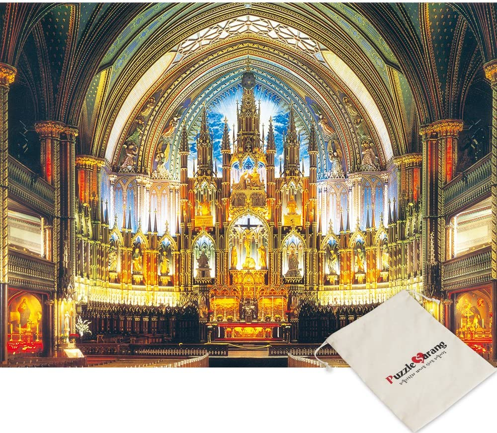 Notre Dame Cathedral 500 Piece Jigsaw Puzzle [Pouch Included]