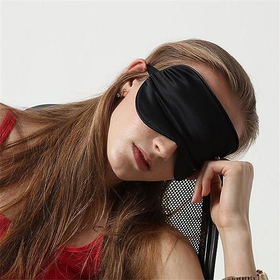 Amazon.com: HMILYDYK 100% sueño de seda máscara de Super ...