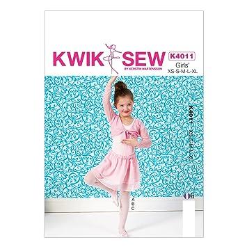 KWIK-SEW PATTERNS Kwik Sew Muster K4011 OS Extra klein, 4, 5, 6, 7 ...
