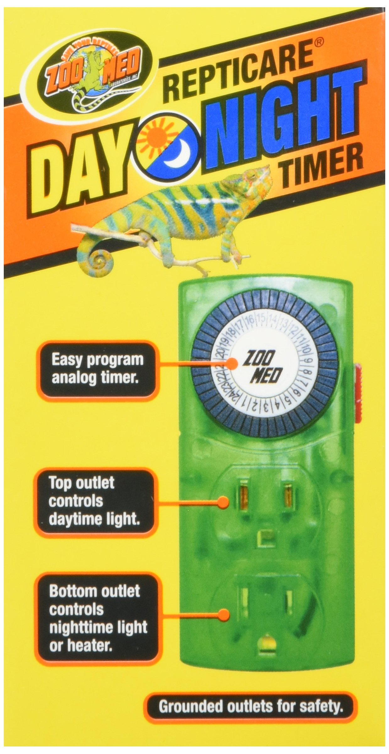 Zoo Med Laboratories SZMLT10 Repti Day Night Timer by Zoo Med (Image #4)