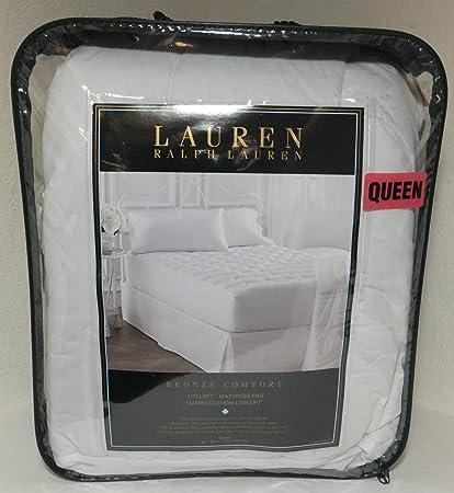 ralph lauren mattress pad Amazon.com: Lauren By Ralph Lauren Bronze Comfort Liteloft Queen  ralph lauren mattress pad