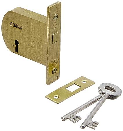 Harrison H-0117 70mm Brass Four Lever Ht Sliding Lock Set (Silver)