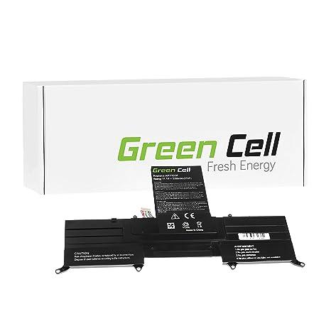 Green Cell® Batería para Acer Aspire S3 MS2346 Ordenador (3300mAh 11.1V Negro)