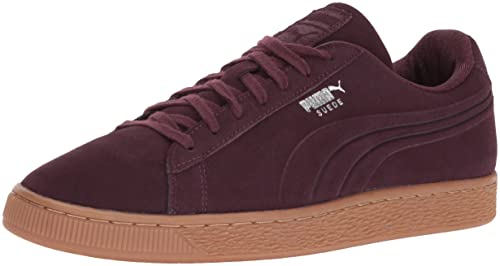 8782d7f76c1 Puma Men's Suede Classic Debossed Q4 Fashion Sneaker, Winetasting-Lilac  Snow, ...