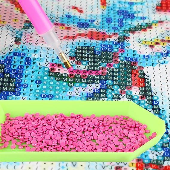 MWOOT DIY 5D Diamante Pintura por N/úmero Kit,Diente de Le/ón Bricolaje Diamond Painting Rhinestone Bordado de Punto de Cruz Artes Manualidades Lienzo Pared Decoraci/ón 30x40cm
