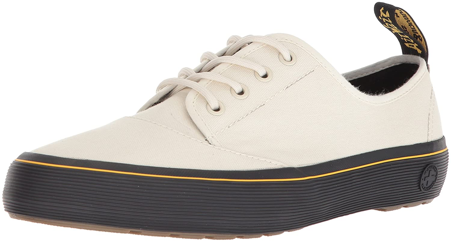 Dr. Martens Women's Jacy Sneaker B072QYT869 7 Medium UK (9 US)|Bone Canvas