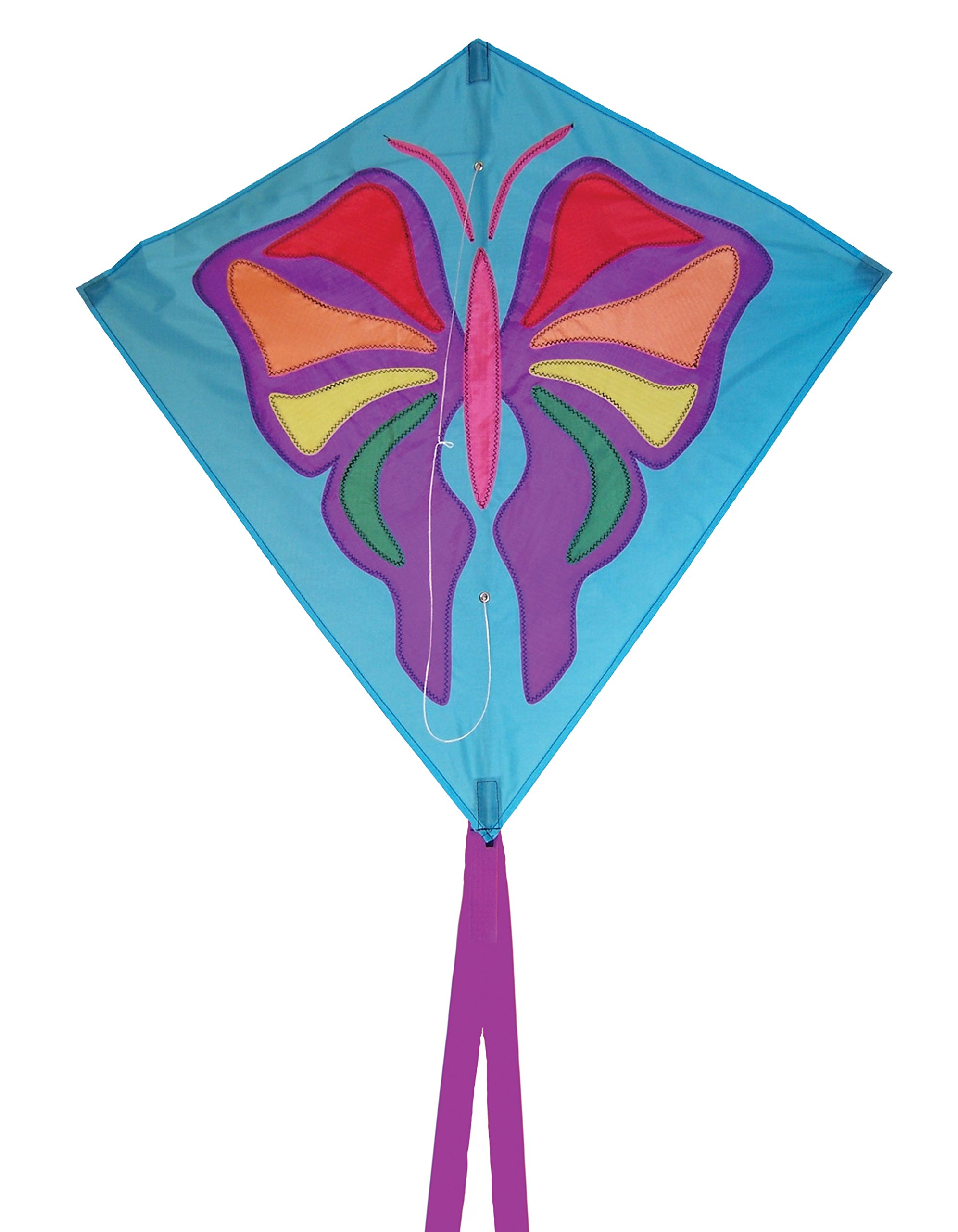 In the Breeze Butterfly Diamond Kite, 30-Inch by In the Breeze