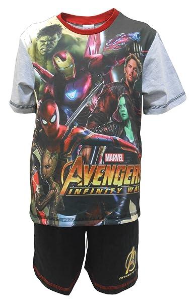 Marvel Avengers Infinifty War Heroes Pijama shortie niño 4-5 años