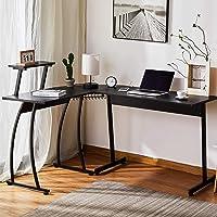 Deals on CO-Z L Shaped Computer Desk 63-in and 58-in Corner Desk