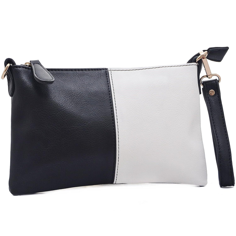 Vain Secrets Umhä ngetasche Clutch kleine Abendtasche mit Schulterriemen und Handgelenk Schlaufe X321Mint