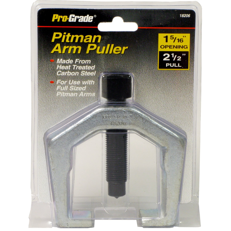 Pro-Grade 18206 Pitman Arm Puller, 1-5/16-Inch Opening Size 2-1/2-Inch Full Allied International