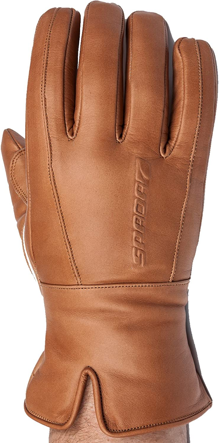 Spada Leather Gloves Free Ride WP Black