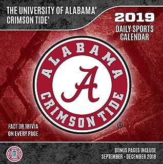 Alabama Calendar 2019 Alabama Crimson Tide 2019 Sports Calendar: Inc. Lang Companies