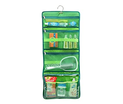Amazon Com Yofi Nurture Yourself Hanging Toiletry Bag Organizer For