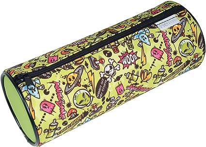 Helix 931014 Graffiti - Estuche cilíndrico: Amazon.es: Oficina y papelería