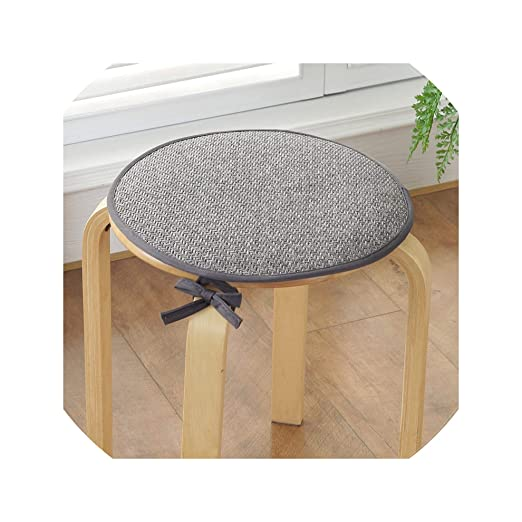 T-Strar Chair cushion Cojín Redondo de ratán para sillas de ...