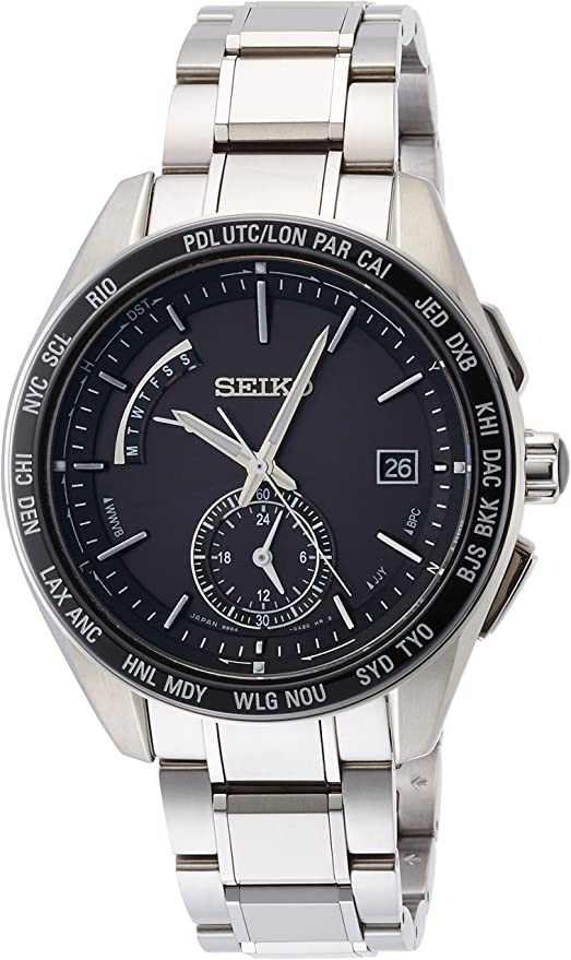 [セイコーウォッチ] 腕時計 ブライツ ソーラー電波修正 サファイアガラス スーパークリア コーティング SAGA167 シルバー