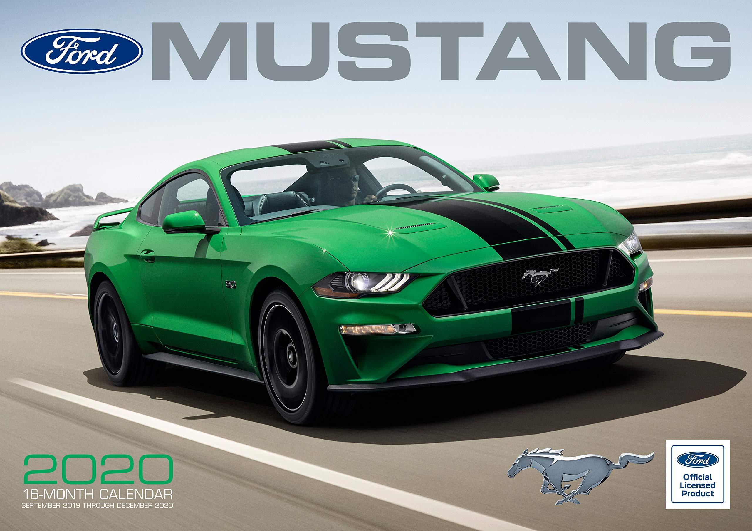 New York Movie Premiere December 2020 Calendar Ford Mustang 2020: 16 Month Calendar Includes September 2019