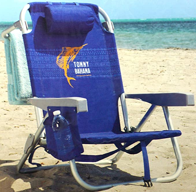 Amazon.com : Tommy Bahama Backpack Chair - Insulated Cooler Pouch ...