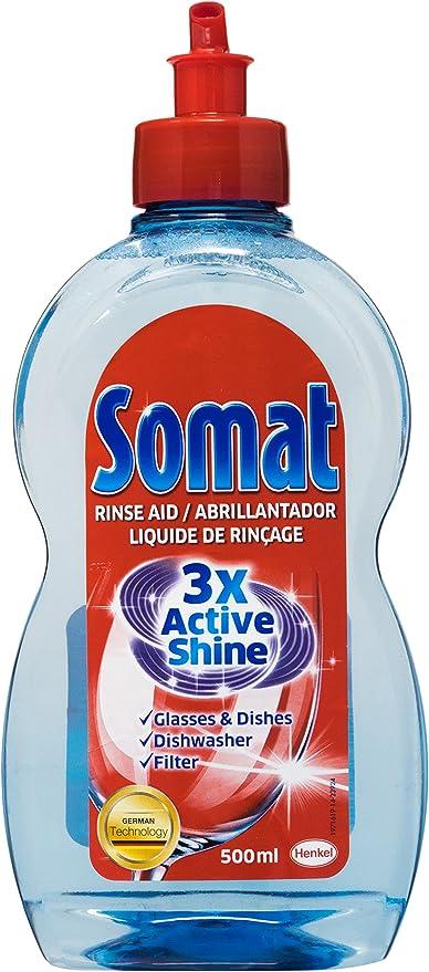 Amazon.com: Somat Rinse Aid producto limpiador de vidrio ...