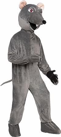 Forum Men's Deluxe Plush Rat Mascot Costume